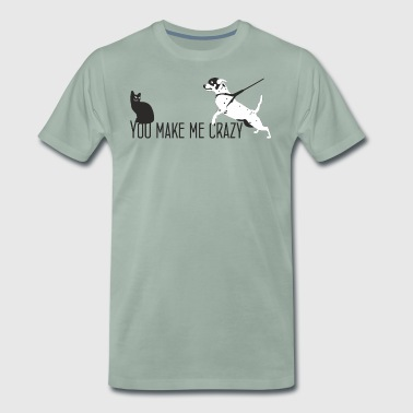 Tu me rends fou petcontest - T-shirt Premium Homme