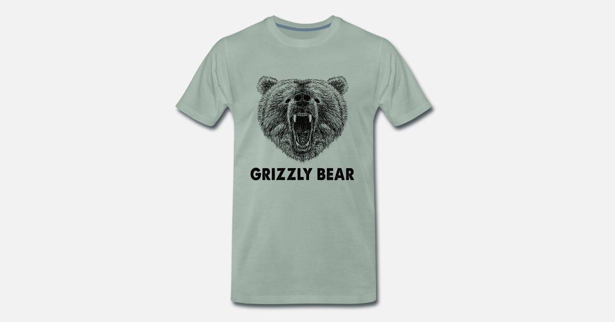 Kühler wilder Grizzlybär-lustige Geschenke, kampierend, Camper von ...