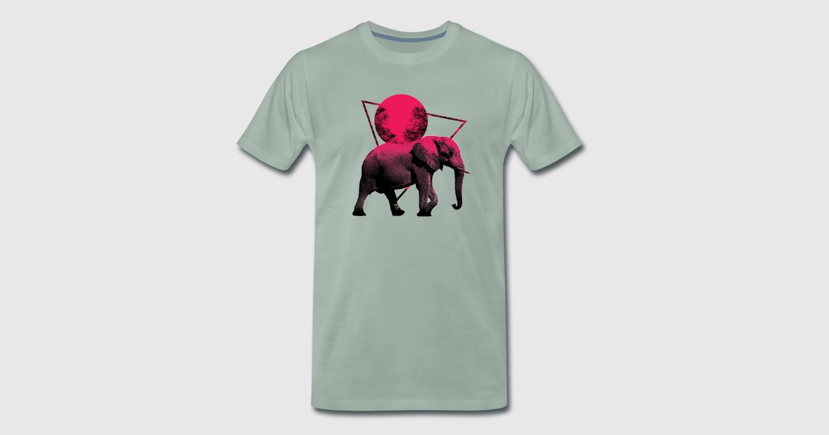 Elefanten Mond Sommer Shirts & Geschenke von Master of Shirts ...