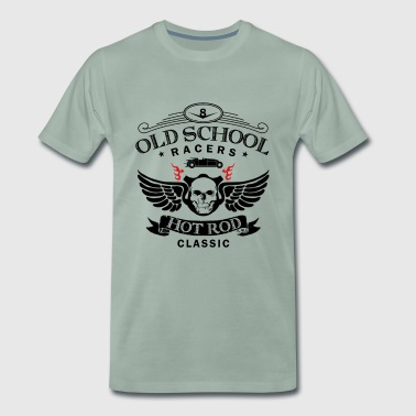 Oldschool Hot Rod Racing - Männer Premium T-Shirt