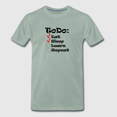 ToDo list of students - Men's Premium T-Shirt