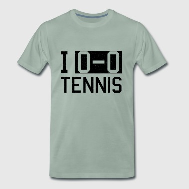 Tennis tennis player tennis court - Men's Premium T-Shirt