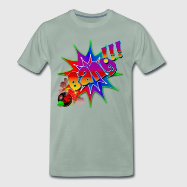 Comic Book Explosion Bang - Men's Premium T-Shirt