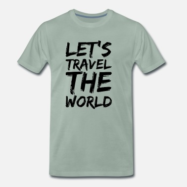 World Travel Travel The World - Männer Premium T-Shirt
