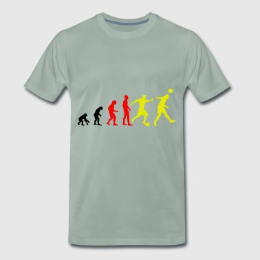 Evolution du football - T-shirt Premium Homme