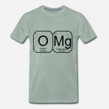 Omg O Mg - Oh mijn god OMG used look - Mannen Premium T-shirt