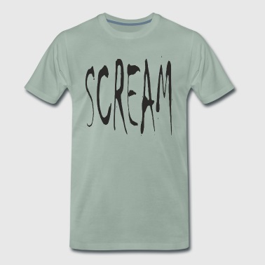 SCREAM - T-shirt Premium Homme