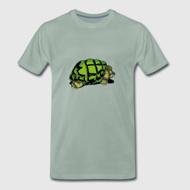 Purple Turtle - Männer Premium T-Shirt