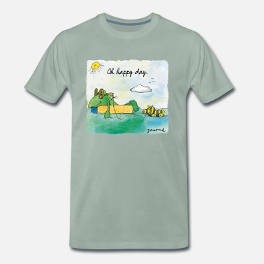 Günter Kastenfrosch Janosch Günter  Tigerente Oh Happy Day - Männer Premium T-Shirt