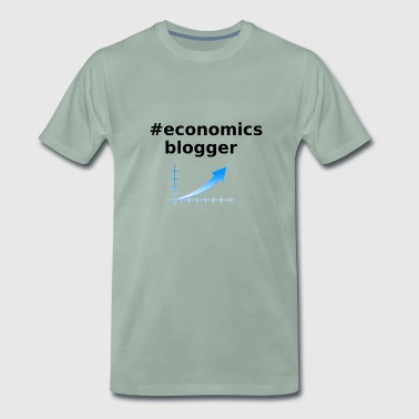 Economics / Economic Blogger Gift - Men's Premium T-Shirt