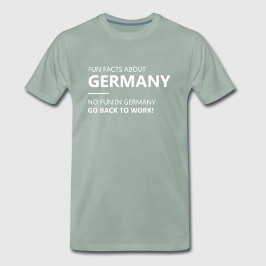 Funny facts about Germany - Men's Premium T-Shirt