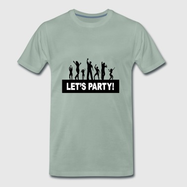 Lets party - Men's Premium T-Shirt