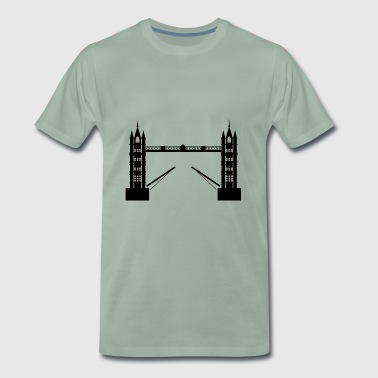 London Bridge - Herre premium T-shirt