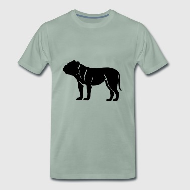 Olde English Bulldogge - Männer Premium T-Shirt