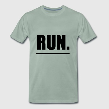 Run running sports - Men's Premium T-Shirt