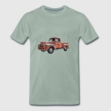 Pick Up Vintage Car - Men's Premium T-Shirt