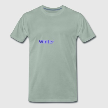 Winter - Männer Premium T-Shirt