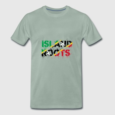 St Kitts Roots - Men's Premium T-Shirt