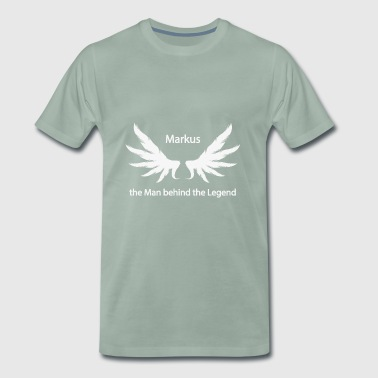Markus the Man behind the Legend - Men's Premium T-Shirt