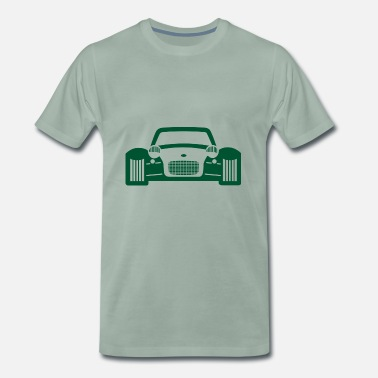 Race Car Driver race car - Men's Premium T-Shirt