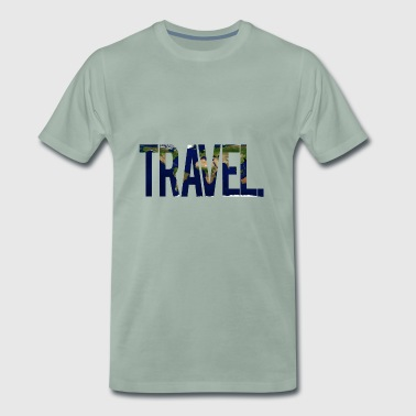 Travel. - Men's Premium T-Shirt