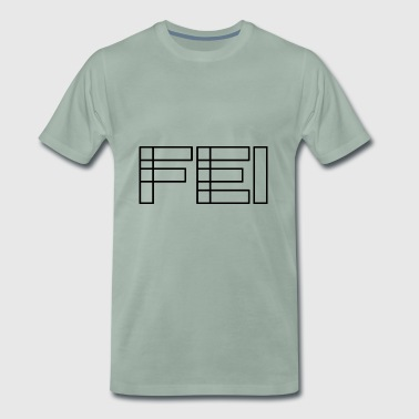 Fei. Franconian basic vocabulary. Bold font - Men's Premium T-Shirt