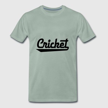 2541614 15436157 cricket - Mannen Premium T-shirt