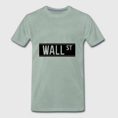 Wall Street 1 - Men's Premium T-Shirt