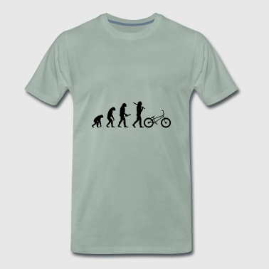 Evolution evolution progress human BMX - Men's Premium T-Shirt