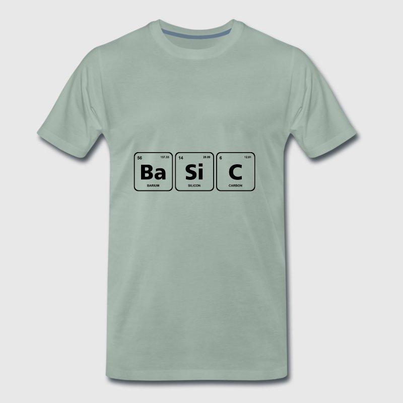 Elemento bsico genio tabla peridica por fancyteedesigns spreadshirt elemento bsico genio tabla peridica camiseta premium hombre urtaz Images