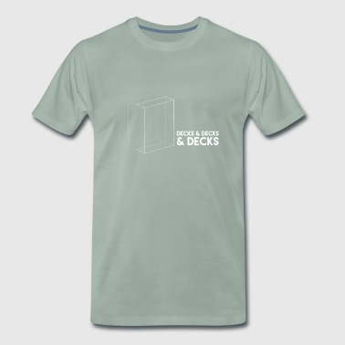 Decks&Decks&Decks - Men's Premium T-Shirt