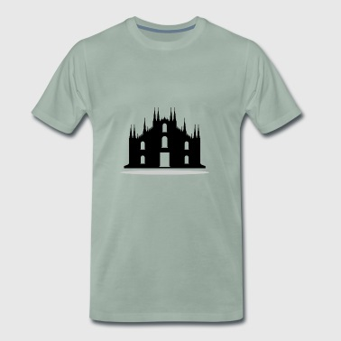 Milan Cathedral - Men's Premium T-Shirt