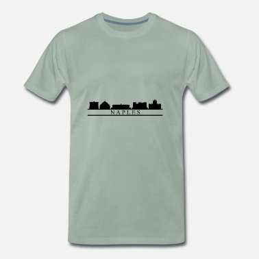 Naples Naples skyline - Men's Premium T-Shirt