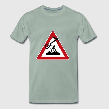 Cyclist accident - Men's Premium T-Shirt