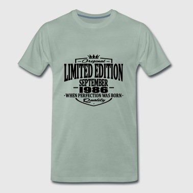 1986 Limited edition september 1986 - Men's Premium T-Shirt