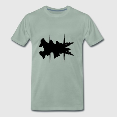 Flying Dog Art - Men's Premium T-Shirt