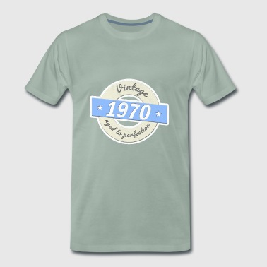 Fiftieth birthday 1970 vintage shirt - Men's Premium T-Shirt