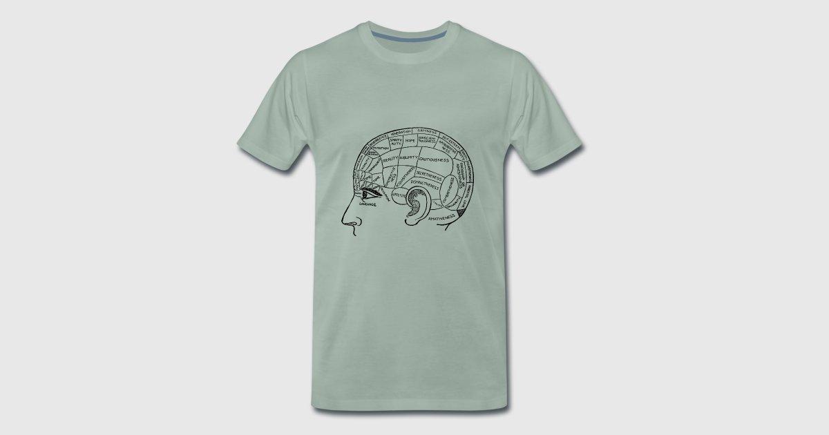 Cerebro, anatomía, dibujo, médico por haukepauke   Spreadshirt