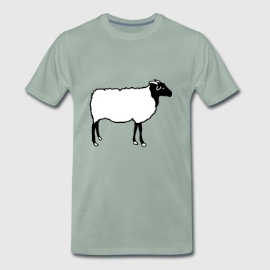 Sheep Sheep Heidschnucke Lamb Shepherd Lambs - Men's Premium T-Shirt