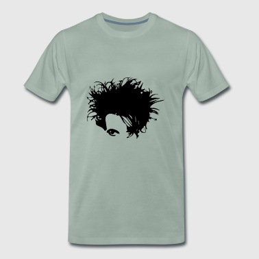 Gothic New Wave Head - Männer Premium T-Shirt