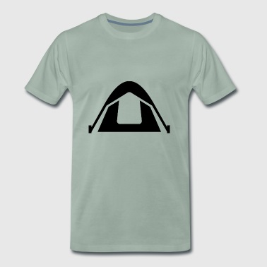 camping camping tente scout tipis kochen110 - T-shirt Premium Homme