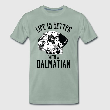 Dalmatian Dog - Men's Premium T-Shirt