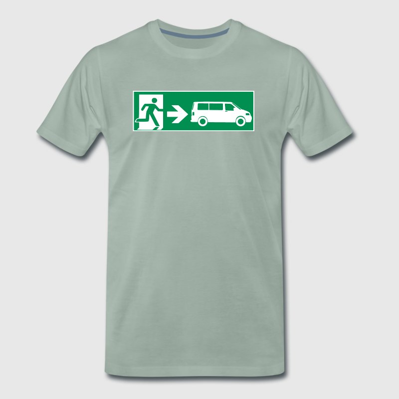 Emergency Exit T5 || SCHALLDOSE ON TOUR - Männer Premium T-Shirt