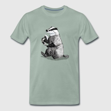 Badger Shaving - Männer Premium T-Shirt