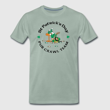 Irish Pub Crawl Team - Men's Premium T-Shirt