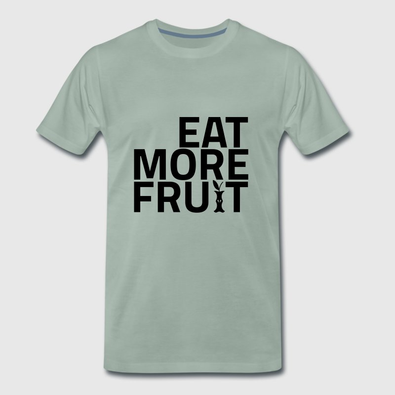 EAT MORE FRUIT - Men's Premium T-Shirt