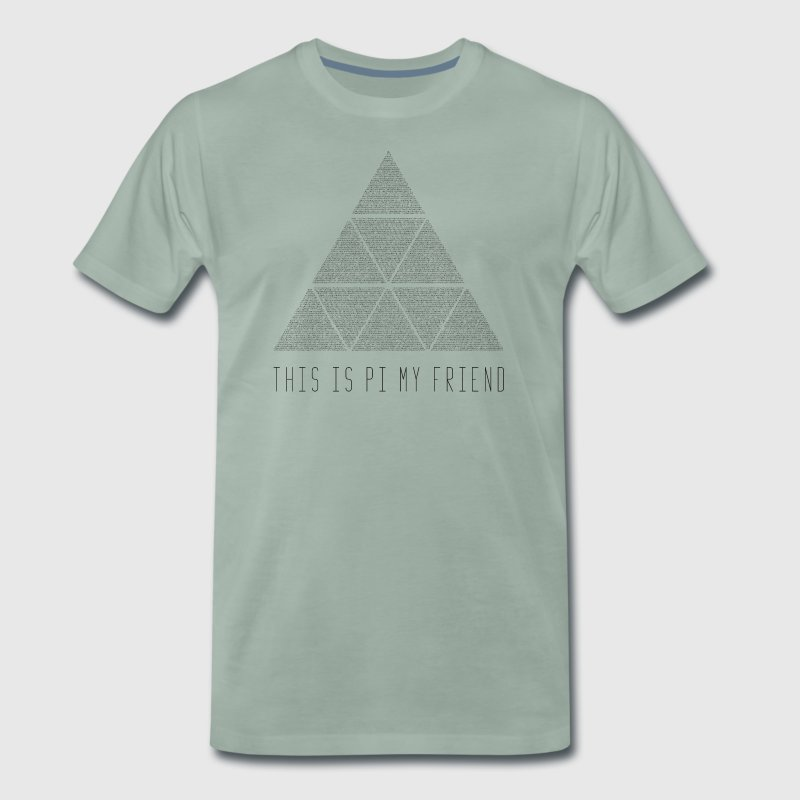 this is my friend pi - Men's Premium T-Shirt