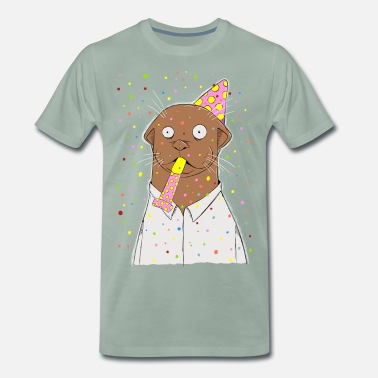 Party Otter Party, otter was? - Männer Premium T-Shirt