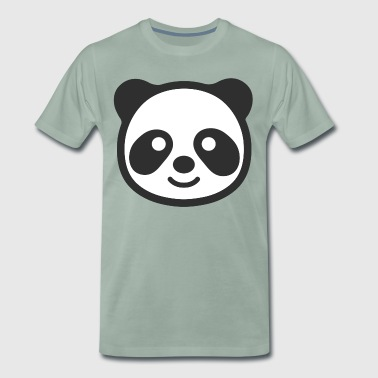 Panda head - Men's Premium T-Shirt