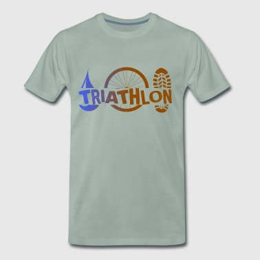 Triathlon Icons - Men's Premium T-Shirt